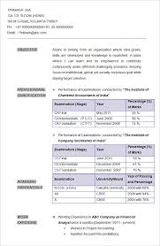 Accounting Resume Format Lovely Cv For Accounting Job