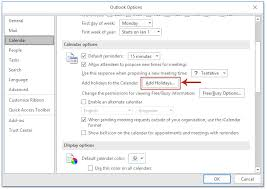How To Add Holidays Into Default Second Public Calendars In Outlook