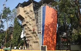 this artificial bouldering and wall climbing centre located on jm road is one of the most revered places to learn the ropes of rock climbing  on artificial rock climbing wall in pune with scale new heights with these 4 rock climbing places in pune pune