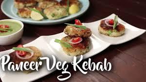easy to make paneer veg kebab chef ranveer brar