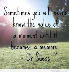 Memory Quotes Beauteous Memory Quote With Image Dr Seuss