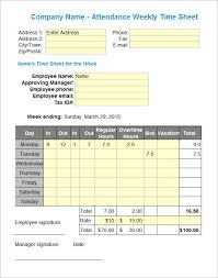 Attendance Sheet Templates 14 Download Free Documents In Pdf