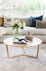See more ideas about table furniture, coffee table, furniture side tables. Hacks For Round Coffee Table Styling Studio Mcgee Round Coffee Table Decor Table Decor Living Room Round Coffee Table Styling