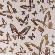 <b>Набор наклеек ДЕКОРЕТТО Золотые</b> бабочки 50х70 см винил ...