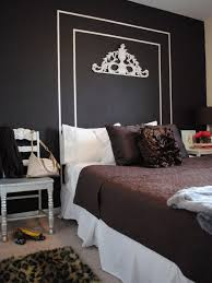 Rms Tendenza Fl Black White Painted Headboard S Rend Hgtvcom