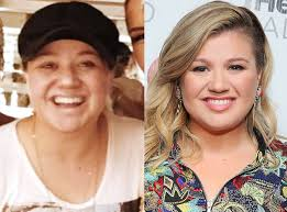 celebrities without makeup kelly clarkson