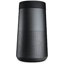 bose portable speakers. bose soundlink revolve portable bluetooth 360 speaker, triple black speakers n