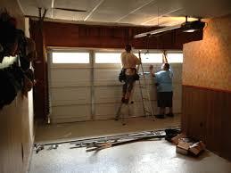 fix garage doordoor  Rare Garage Door Panel Repair Do It Yourself Remarkable