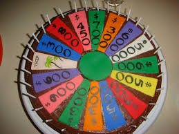 wheel of fortune birthday cake