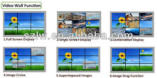 Small Picture 2x2 System 20mm 40 Inch Narrow Bezel Lcd Video Wall 4k Display