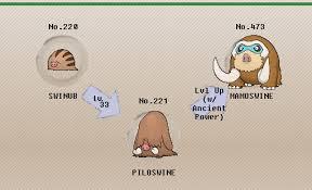 Pokemon Swinub Evolution Chart 72 Genuine Pokemon Swinub Evolution Chart
