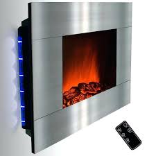 stainless steel electric fireplace golden vantage inch stainless steel wall mount indoor heater electric fireplace northwest
