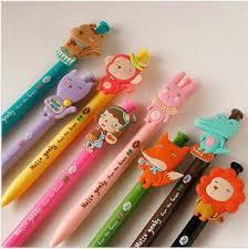 / New Cute Korean Animal Series Ball Pen / Gif Pen Wood Pens Personalized  Ink Pens From Kissflower, $23.44| DHgate.Com