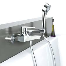 wall mounted tub faucets with hand shower fillers mount faucet filler moen fau