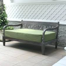 outdoor daybed mattress cover popular vanity gray with green cushion our home at regarding 5 au