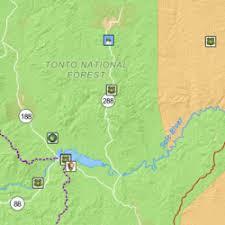 arizona maps visit arizona Map Northeastern Arizona arizona's recreation and cultural sites map map northeast arizona