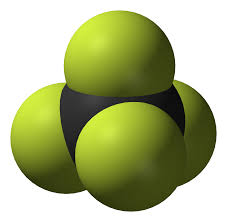File Carbon Tetrafluoride 3d Vdw Png Wikimedia Commons
