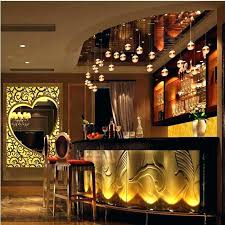 commercial bar lighting. Commercial Bar Counter Design Restaurant Pure Acrylic Solid Surface . Lighting