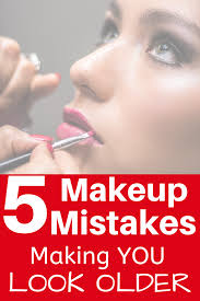 makeup mistakes over 40