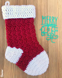 Crochet Stocking Pattern Custom Free Crochet Stocking Pattern Step By Step Darice