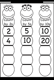 Skip Counting By 2 5 And 10 Worksheet Free Printable