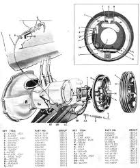 willys jeep parts diagrams illustrations from midwest jeep willys hand brake assembly