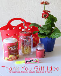 thank you gift idea for teachers friends scouts coaches more