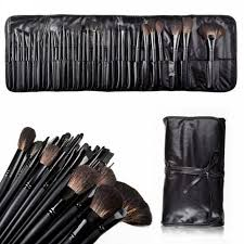 foolzy 32 professional makeup brush set with travel case code br