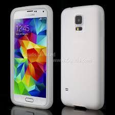 samsung galaxy s5 white. soft silicone case for samsung galaxy s5 g900 - white