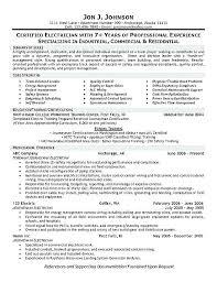 Plumber Resume Example Plumbing Resume Examples Tradesman Plumber