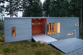 finest 9 examples where corrugated steel has been used as siding rf95