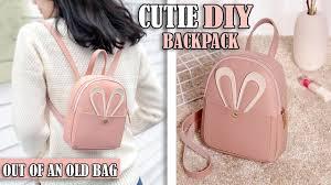 DIY FANTASTIC <b>BACKPACK</b> IDEA <b>PURSE BAG</b> TUTORIAL // Mini ...