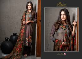 Winter Suits Design For Ladies Rvee Gold Present Zubaa Pure Pashmina Designer Salwar Suit