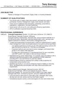 Supply Chain Manager Resume Example | Cv | Pinterest | Resume ...