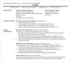 Student Teaching Resume Mesmerizing 28 Teaching Resume Templates PDF DOC Free Premium Templates
