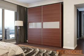 sliding door wardrobe with frosted glass