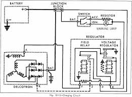 automotive wiring diagrams page of  charging circuit diagram of 1966 oldsmobile 33 through 86 series