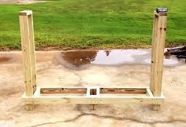 firewood rack plan under dollars outdoor wood towel free plans outdoor wood rack