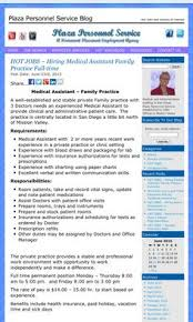 Medical Assistant Back Office Duties 126 Best Medical Assistant Job Opportunities In San Diego
