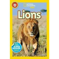 national geographic kids readers lions
