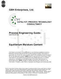 Grain Moisture Equilibrium Chart Equilibrium Moisture Content
