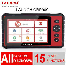 <b>Launch X431 Full-System Diagnostic</b> Tool CRP909 OBD2 Scanner ...