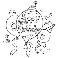 Printable Balloons Free Balloon Coloring Pages Print Page
