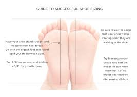 Kids Shoe Size Chart Sizing Tips Livie Luca