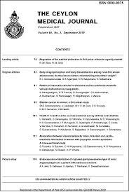 Ssm Doctors Note Sri Lankan Journals Online