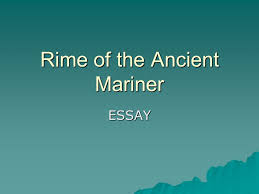 rime of the ancient mariner ppt video online  rime of the ancient mariner