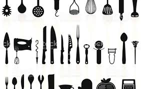 kitchen utensils silhouette vector free. Full Size Of Kitchen:fancy Kitchen Utensils Silhouette Vector Free Extraordinary Pack 1 Cooking Tools