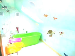 surprising fish bathroom decor kids fish bathroom decor seahorse sea animals wall art kids life nursery