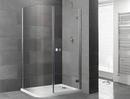 orca curved corner frameless shower enclosure inc tray