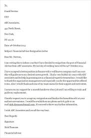Resignation From A Job Sample Job Resignation Letter Template 14 Free Documents In Word Pdf